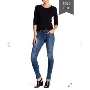 💎7 for all Mankind moto Jeans pascal blue NWT